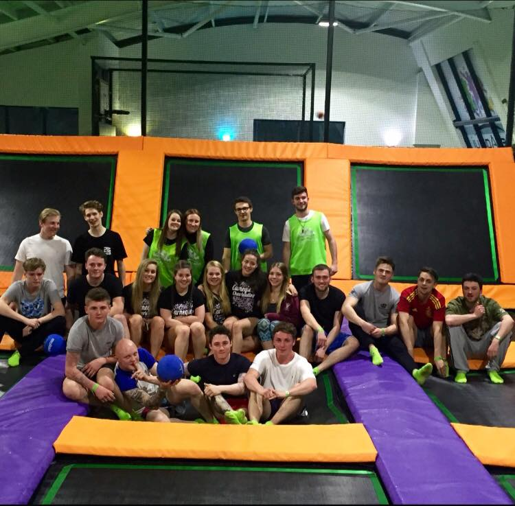 Fun at a Trampoline Park