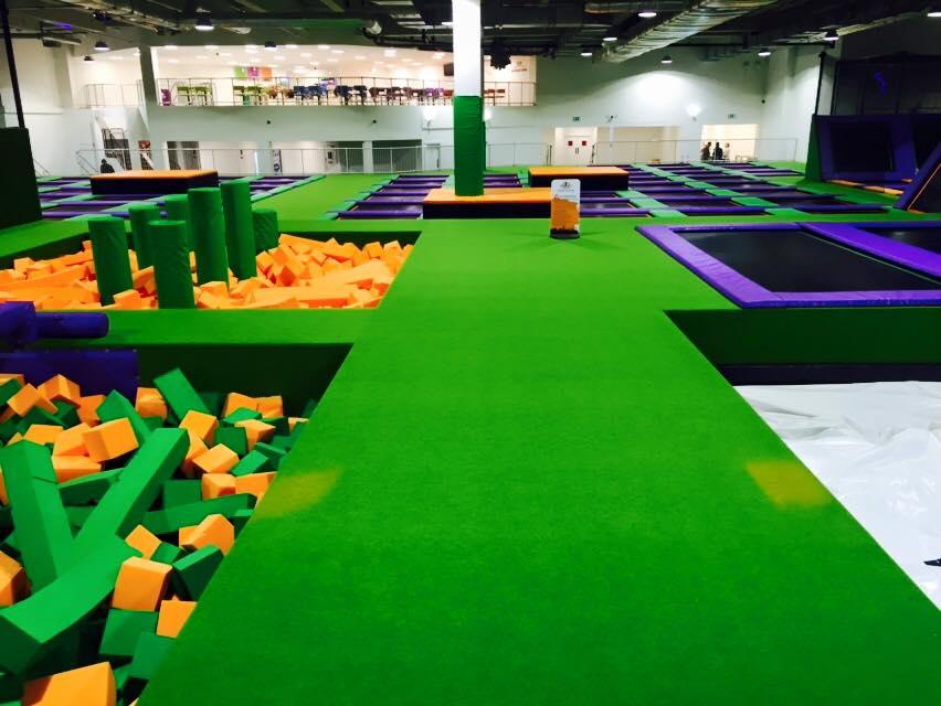 trampoline park uk
